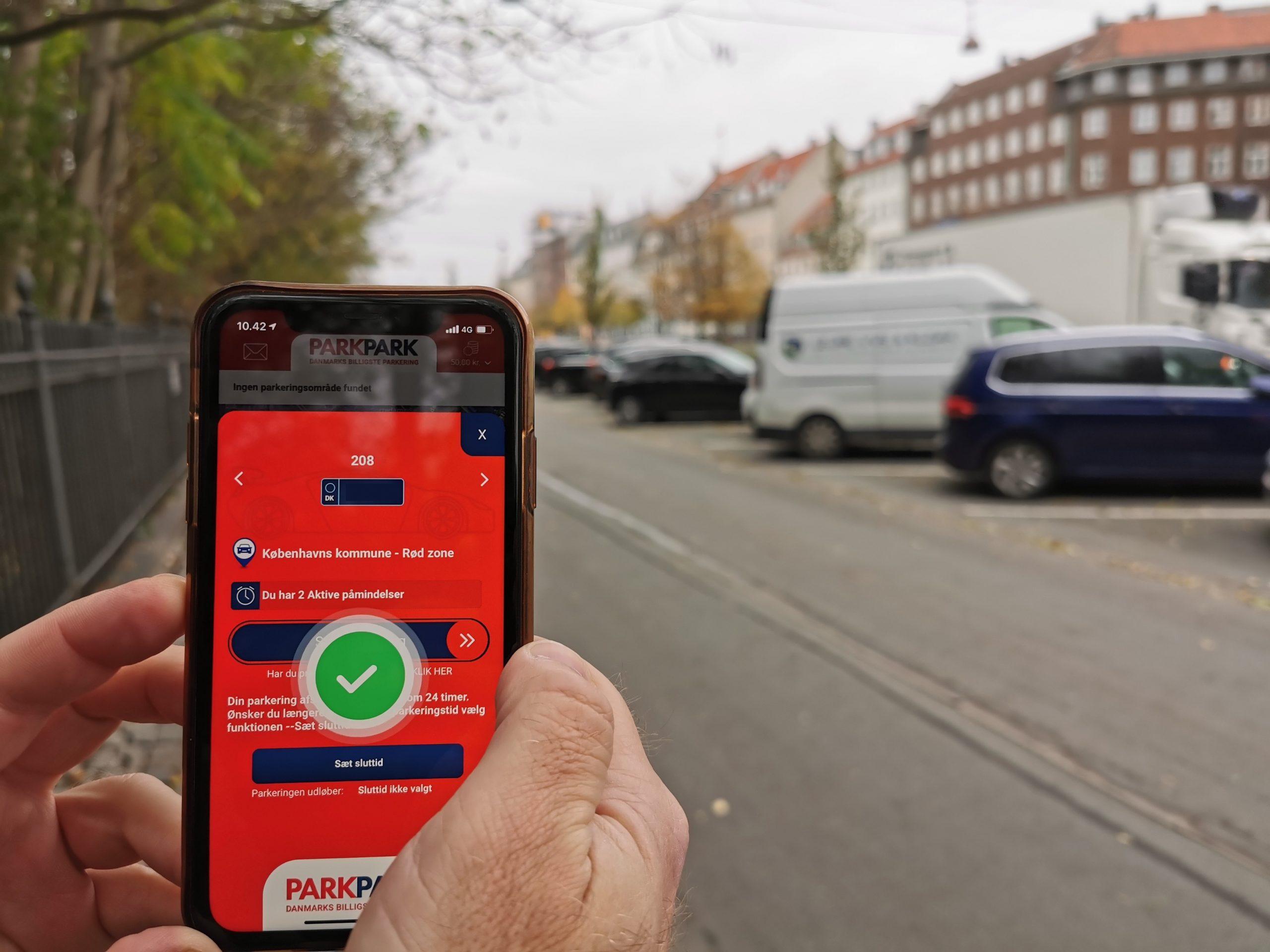 """Nyheder - """"PARKPARK appen gør det lettere at parkere"""""""
