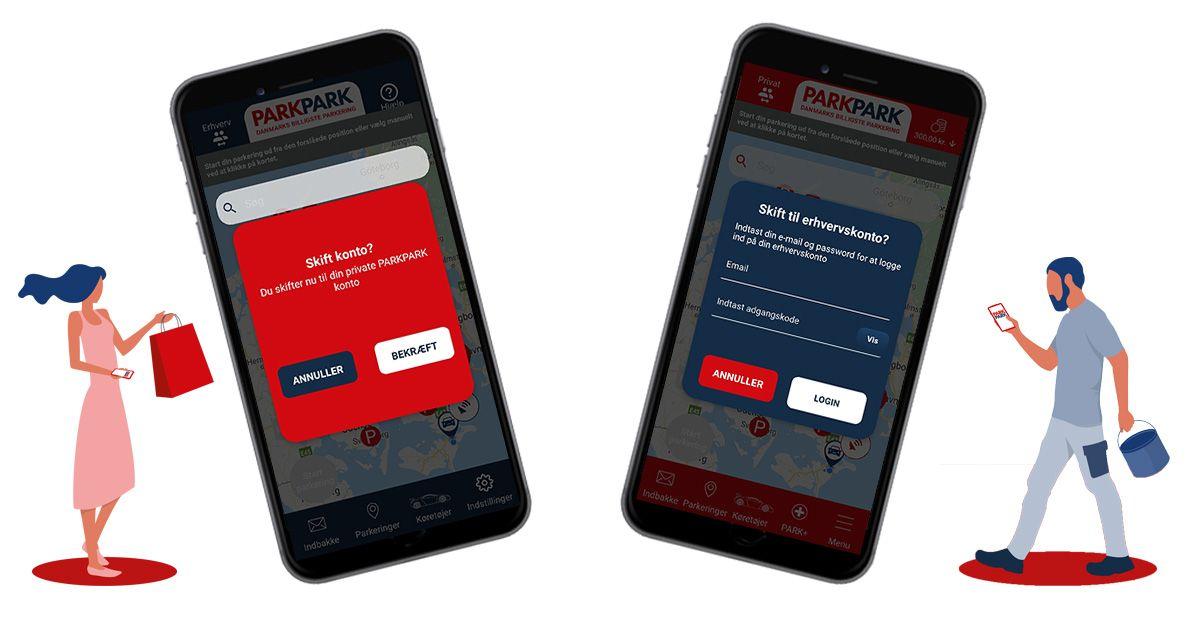 Nyheder - PARKPARK app til både erhverv og private