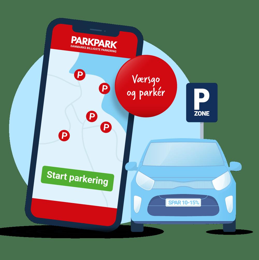 Download app - Værsgo og parker