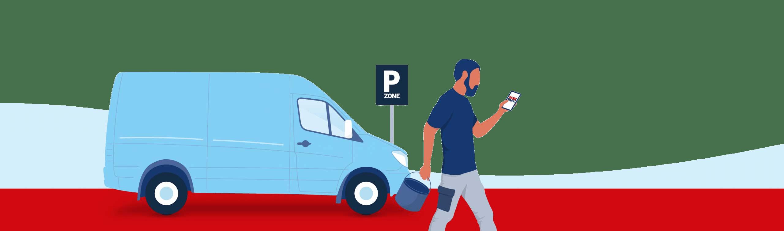 PARKPARK Erhverv - erhvervsparkering - Markedets billigste parkering til Erhverv - Topbillede